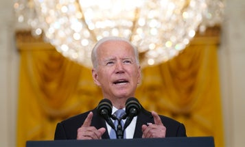 Biden says 'buck stops with me' after blaming Afghan military for country's downfall