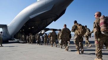 Withdrawal From Bagram Air Base Afghanistan