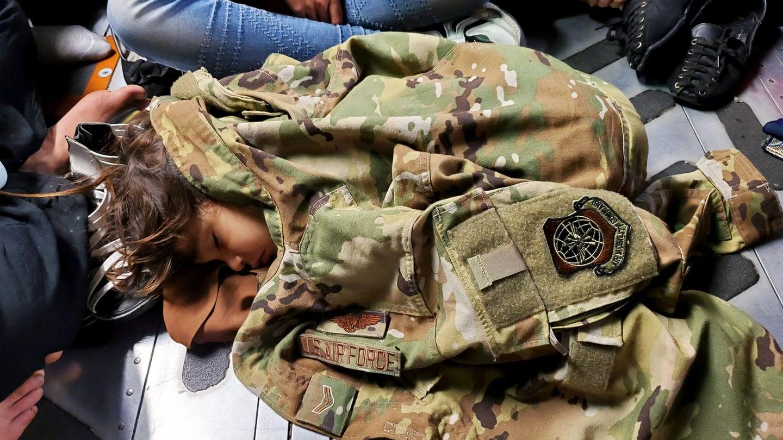 afghan child kabul