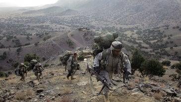 U.S. Forces Hunt Taliban Near Pakistan Border