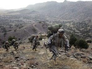 An Afghan War veteran describes the 'detachment' of watching his war end