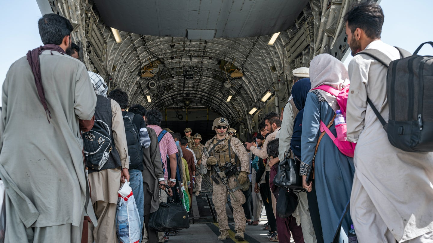 Where Afghanistan evacuees are going after they leave the country