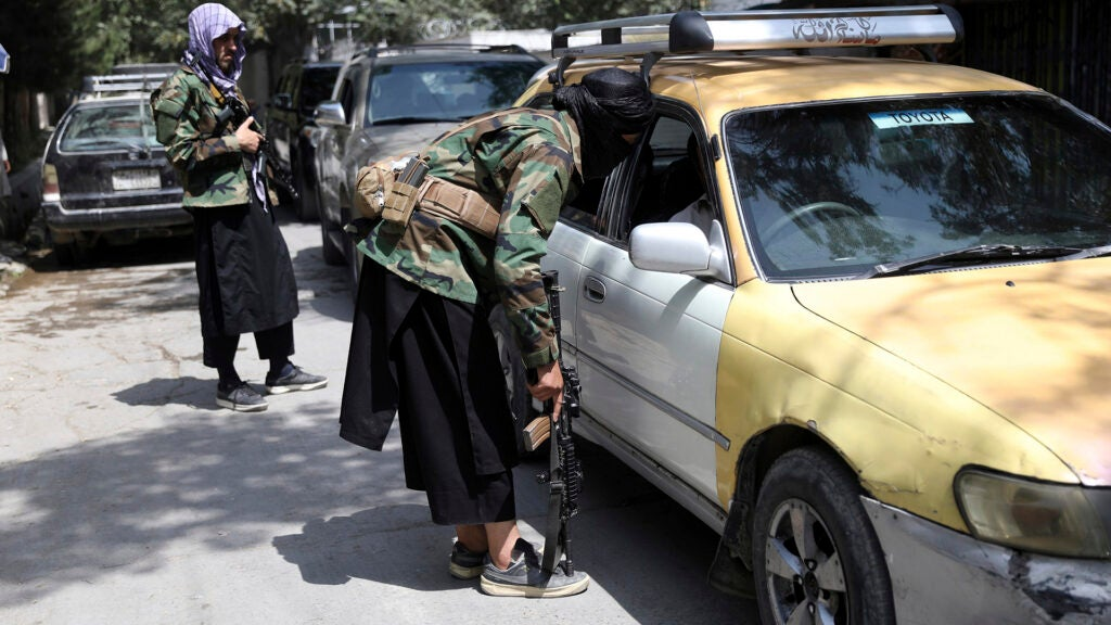 Firefight erupts at Kabul airport as Taliban push 'red line' for foreign evacuations