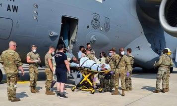 Three babies born amid Afghanistan evacuation, general says