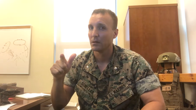 Marine officer who blasted leaders over Afghanistan withdrawal now in the brig