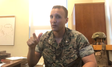 Marine commander relieved over viral video calling out military leaders for Afghanistan withdrawal [UPDATED]
