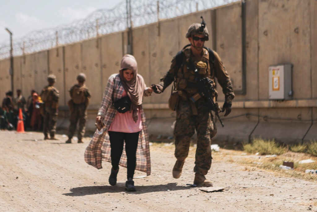 The US withdraws under fire as the Afghanistan evacuation nears its end