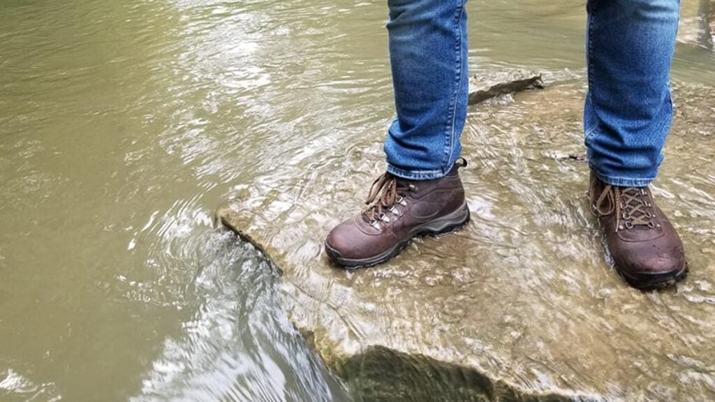 Review: the Timberland Mt. Maddsen Mid Leather hiking boots are made to excel in rain or shine