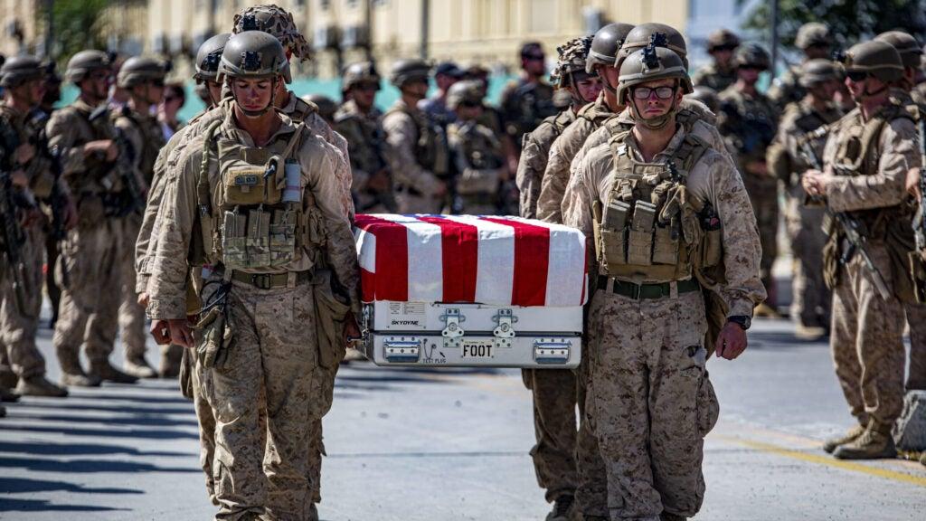 afghanistan Ramp Ceremony