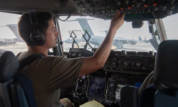 'A vessel of hope' — Air Force C-17 crews exhausted but proud after largest airlift in US military history
