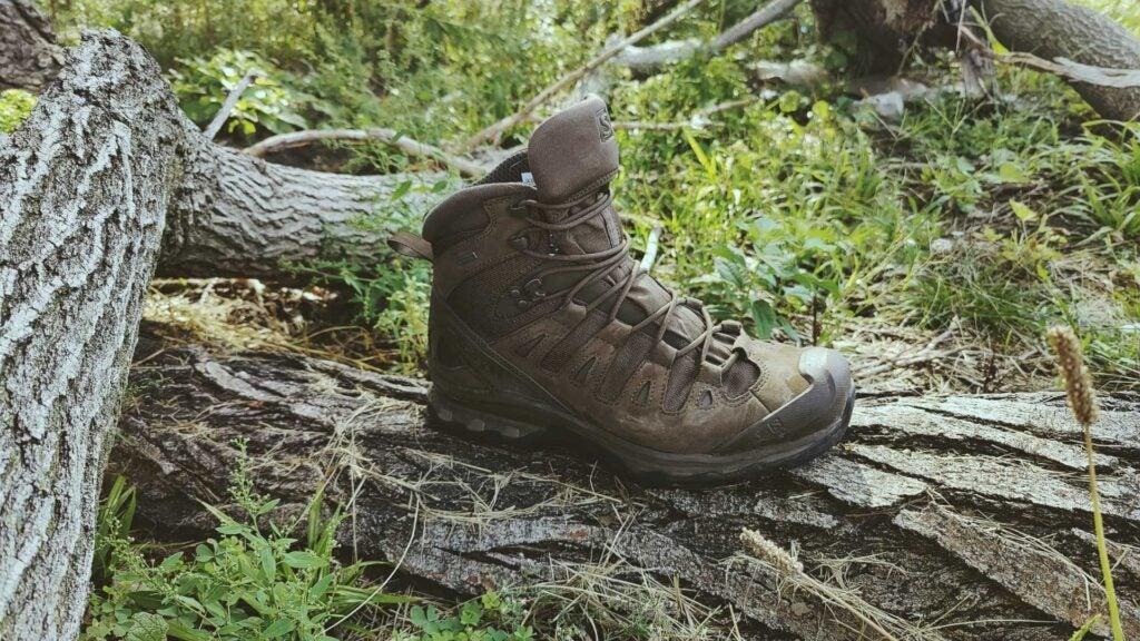 Review: the Salomon Quest 4D GTX Forces 2 EN tactical shoes will make your feet happy