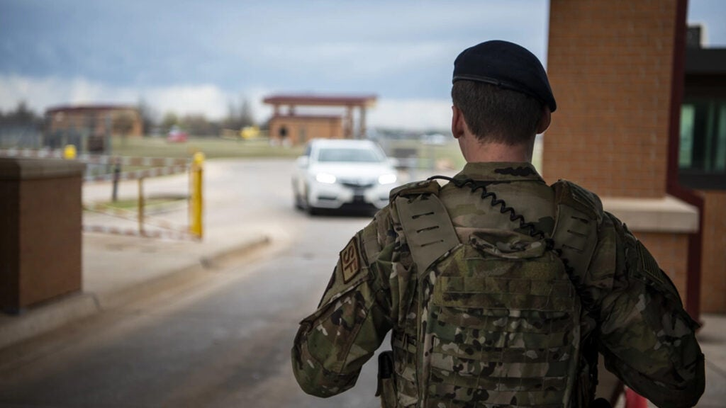 Airman stuck with $19,000 repair bill after gate guards wreck his car