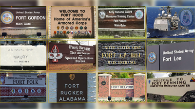 Forty McFortface: The US military is renaming bases and needs your help