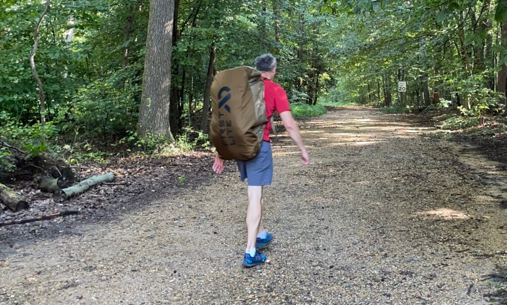 Review: the First Lite Dirtbag Duffle carries the load with ease
