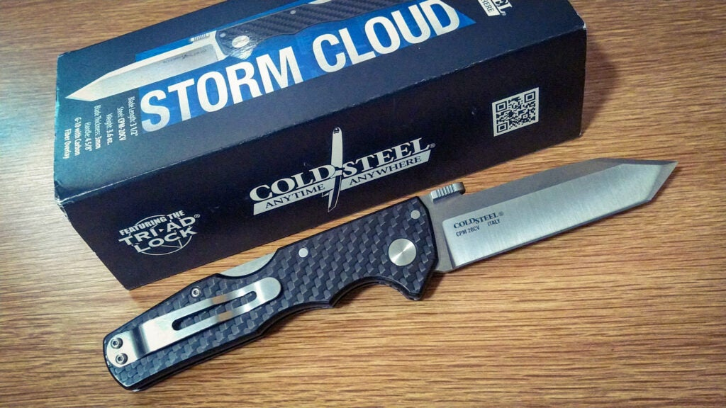 Review: Is the Cold Steel Storm Cloud faster than lightning?