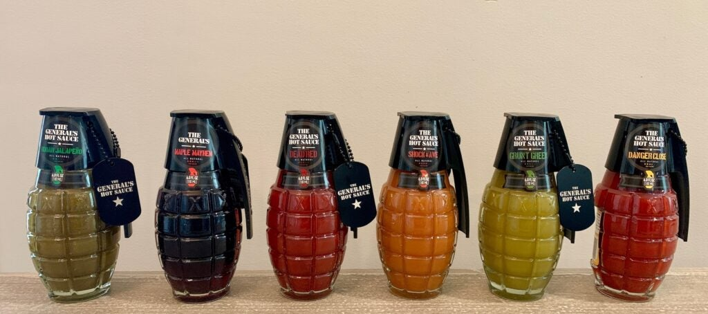 Review: Pull the pin on a flavor explosion with The General's Hot Sauce