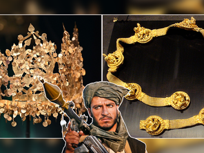A massive 2,000 year old treasure trove is missing in Afghanistan and the Taliban is hunting it down