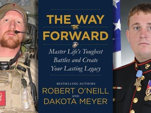 A Marine Medal of Honor recipient and the Navy SEAL who shot Bin Laden are writing a self-help book