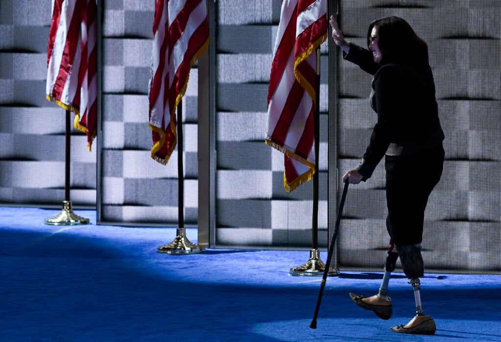 A US Senator who lost her legs in combat is being attacked for using a veterans' tax benefit