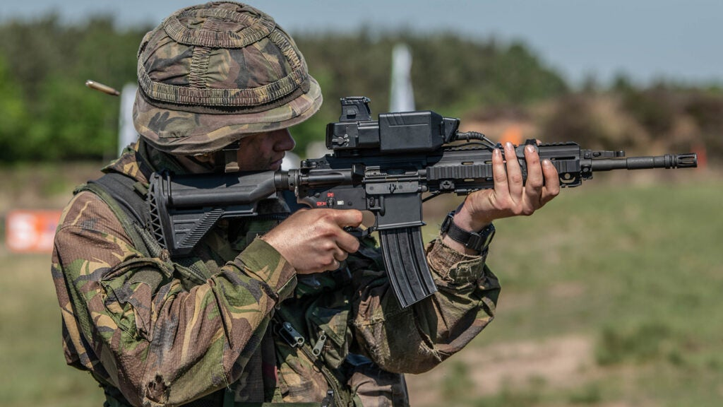 Marines are testing a new scope that 'locks on' target