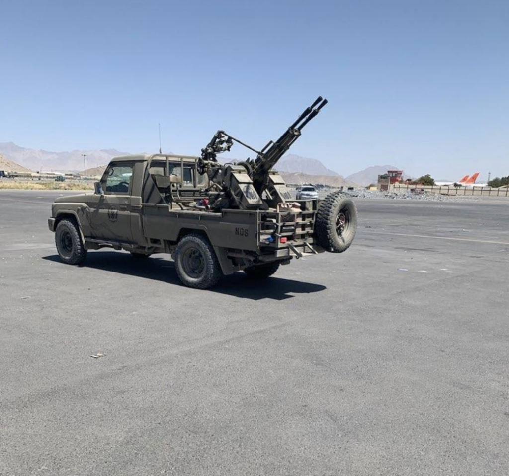 The true story of how Army paratroopers traded dip for a Toyota gun truck used to secure the Kabul airport