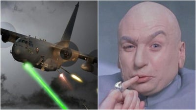 The Air Force is about to slap a frickin' laser beam on its deadliest gunship