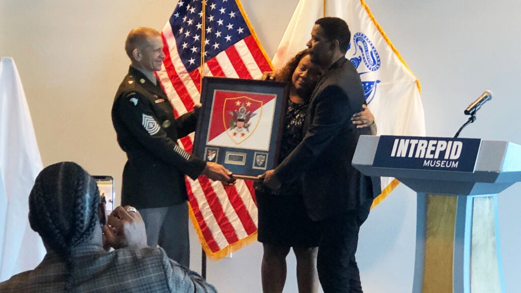 Denzel Washington is the US Army's newest (honorary) sergeant major