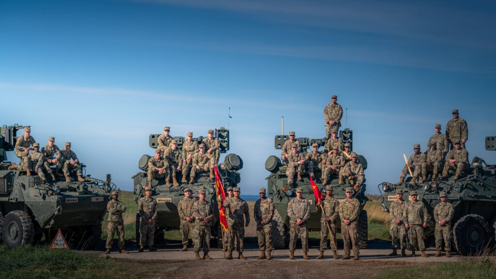 Army fires new missile-hauling Stryker for the first time in Europe