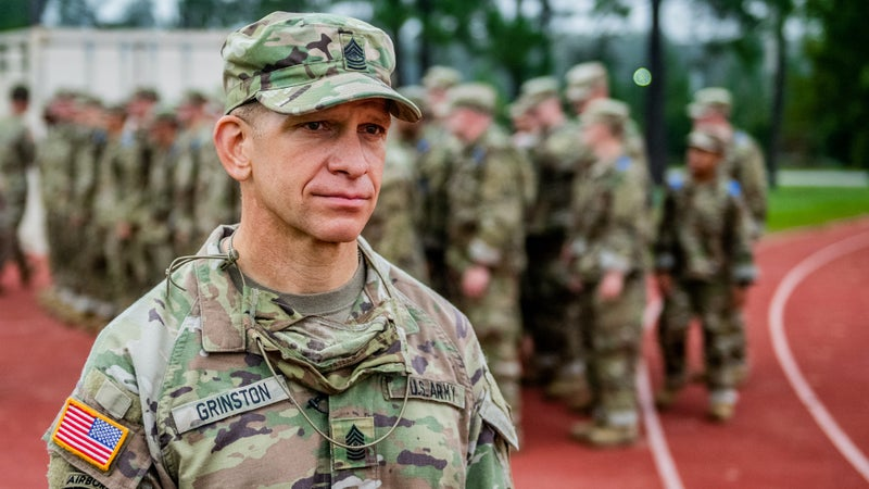 The Sgt. Maj. of the Army wants leaders to stop scheduling training just for the sake of it