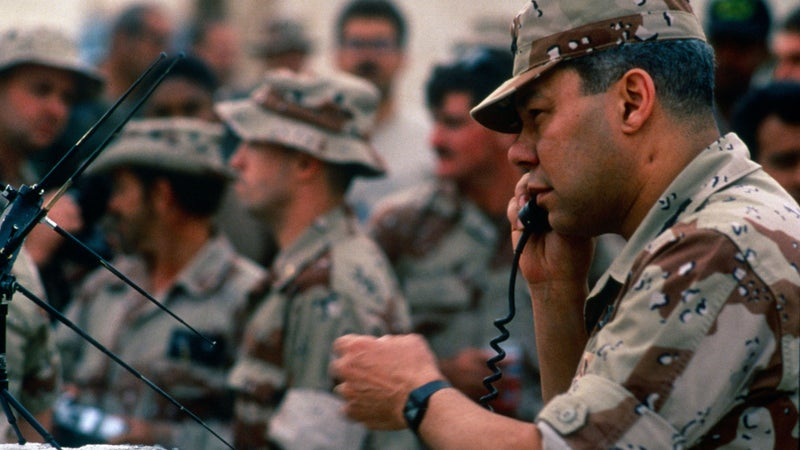 What Colin Powell learned about leadership after losing his sidearm