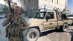 Soldier who helped secure Kabul airport with Toyota technical traded for dip gets promoted