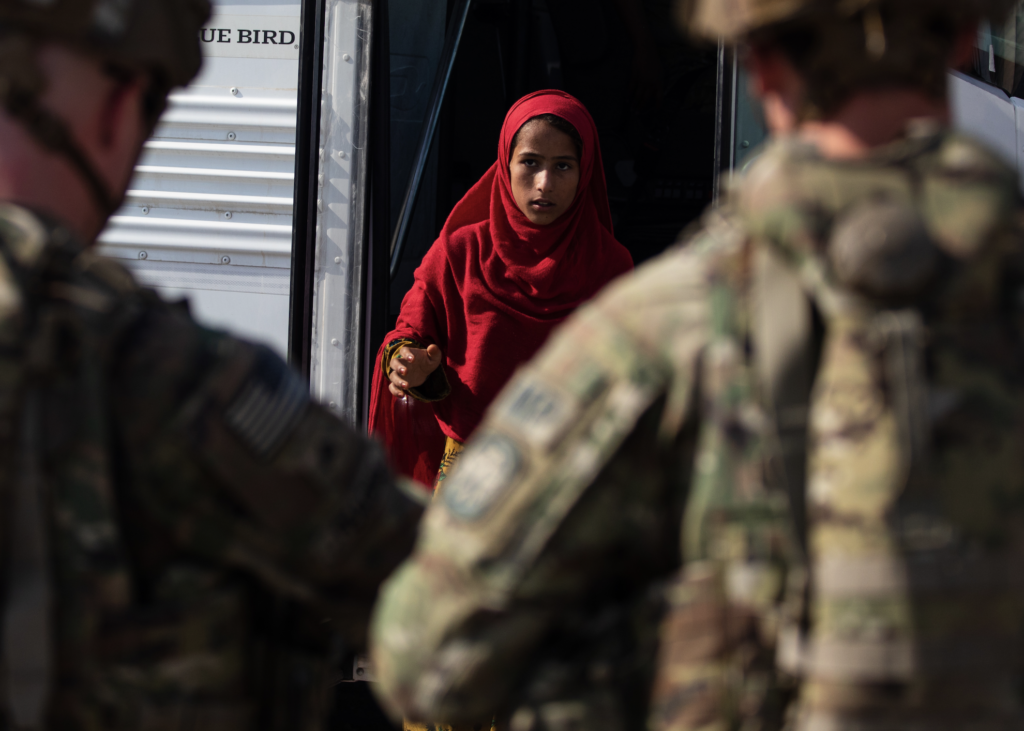 The inside story behind the photo of the last soldier to leave Afghanistan