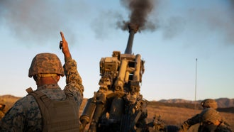 marine artillery